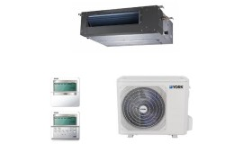 Aer conditionat tip duct York 12000 BTU DC inverter YEKE12BXEEBM-WX-YUKE12BYEEBMO-X