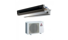 Duct Mitubishi Electric 12000 BTU inverter PEAD-RP35JAQ + SUZ-KA35VA4